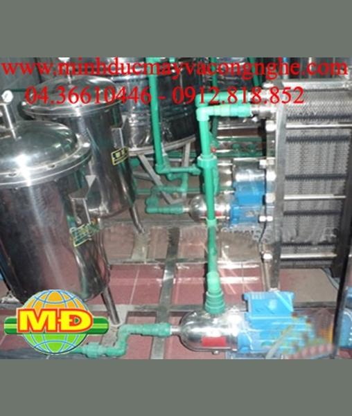 Máy trao đổi nhiệt nước trà xanh
