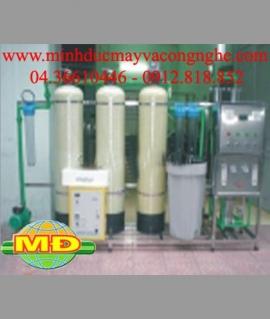 Dây chuyền lọc nước tinh khiết 750 lít/h 02 màng